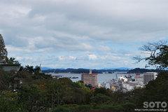 塩竃神社駐車場からの眺め