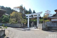 金蛇水神社(鳥居)