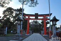 竹駒神社(鳥居)