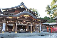 竹駒神社(拝殿)