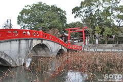 青井阿蘇神社(神橋)