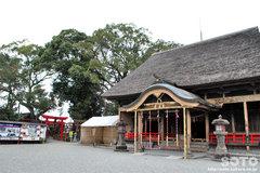 青井阿蘇神社(拝殿)