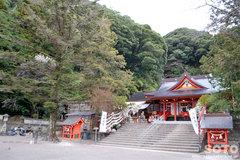 豊玉姫神社 拝殿