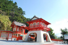 長崎鼻(竜宮神社)