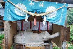 都農神社(御神象)