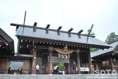 北海道神宮(神門)