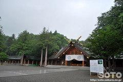 北海道神宮(拝殿)