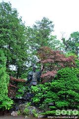 北海道神宮(島義勇の像)