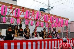 羽幌神社例大祭(オロロン太鼓)