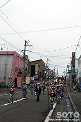 羽幌神社例大祭(練り歩く・1)