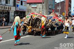 羽幌神社例大祭(獅子・1)