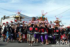羽幌神社例大祭(練り合い・2)