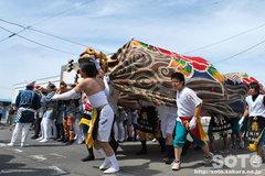 羽幌神社例大祭(練り合い・4)