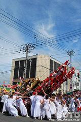 羽幌神社例大祭(練り合い・5)