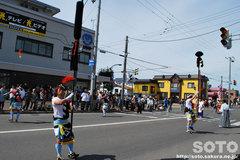 羽幌神社例大祭(練り歩く・3)