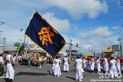 羽幌神社例大祭(練り歩く・2)