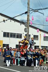 羽幌神社例大祭(女神輿・艶龍)
