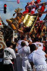 羽幌神社例大祭(喧嘩神輿・2)