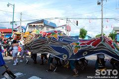 羽幌神社例大祭(獅子・3)
