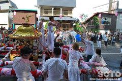 羽幌神社例大祭(鳥居前・1)