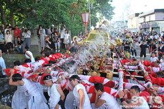 羽幌神社例大祭(鳥居前・2)