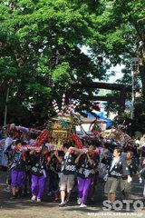 羽幌神社例大祭(町内神輿)