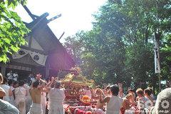 羽幌神社例大祭(締め・1)