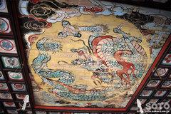石見銀山(城上神社の天井画)