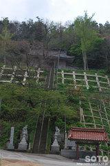 奥津姫神社(遠景)