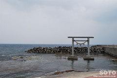 奥津姫神社(鳥居)