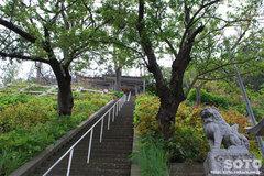 奥津姫神社(階段/2)