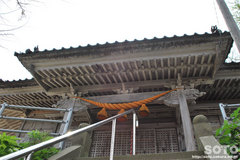 奥津姫神社(拝殿)