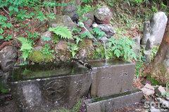 八ッ場(川原湯神社/手水)