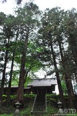 倭文神社(拝殿)