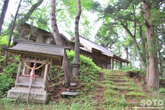 倭文神社(普賢社)