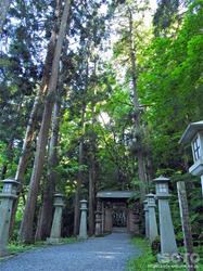 桜松公園(山門)