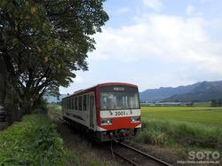 阿蘇白川駅(列車)