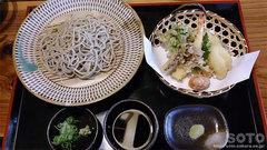 水月そば(天ぷら蕎麦)