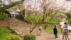 秋月の町並み(長屋門)