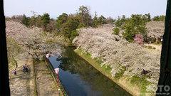 弘前城天守からの眺め(2)