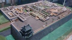 弘前城ジオラマ