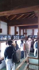 弘前城内部