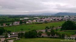 ワイン城からの眺め