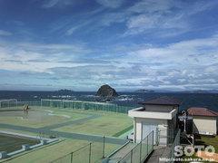 野母崎(軍艦島資料館からの眺め)