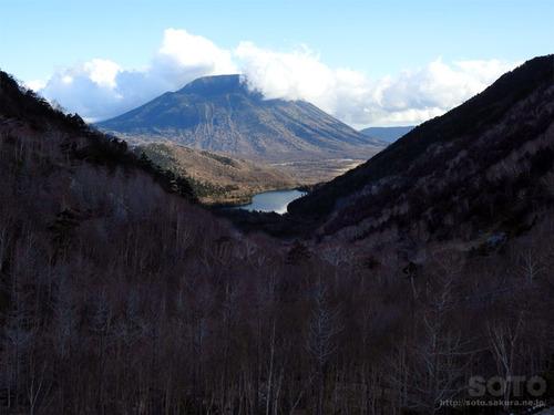 金精峠からの眺め