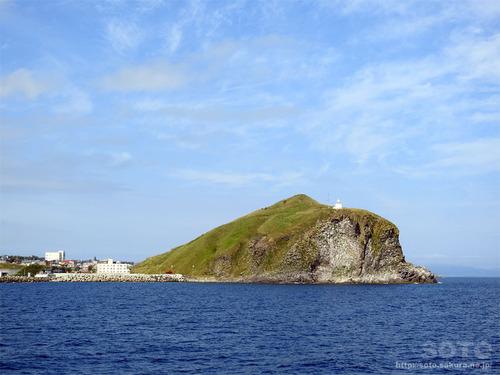 洋上からのペシ岬