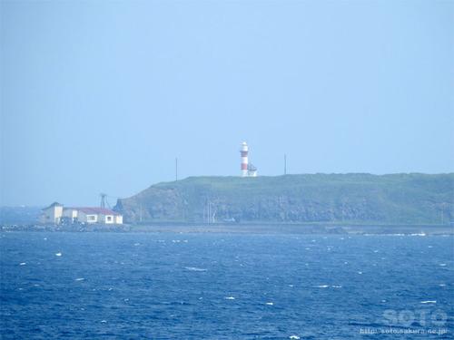 スコトン岬から見た金田ノ岬