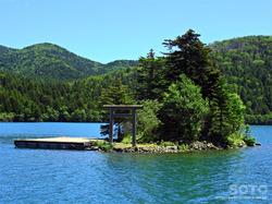 然別湖遊覧船(10)