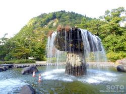 材木岩公園(噴水)