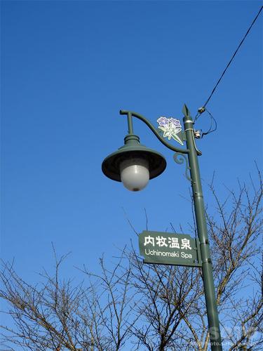阿蘇内牧ドライブ(街灯)